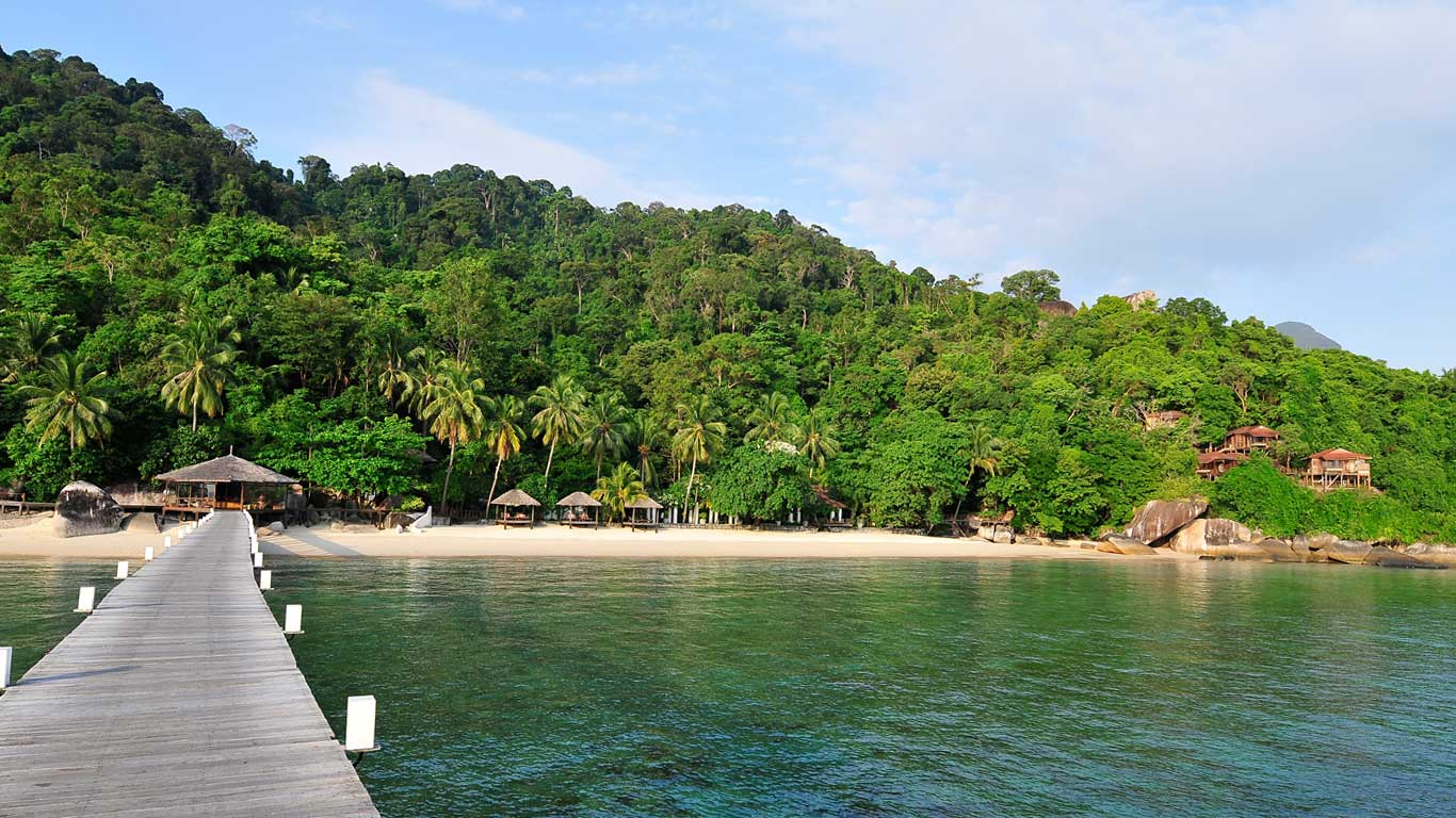 Luxury Tioman Resort